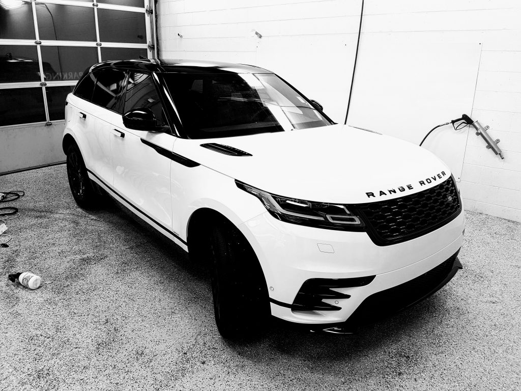 Range Rover Full Roof Wrap