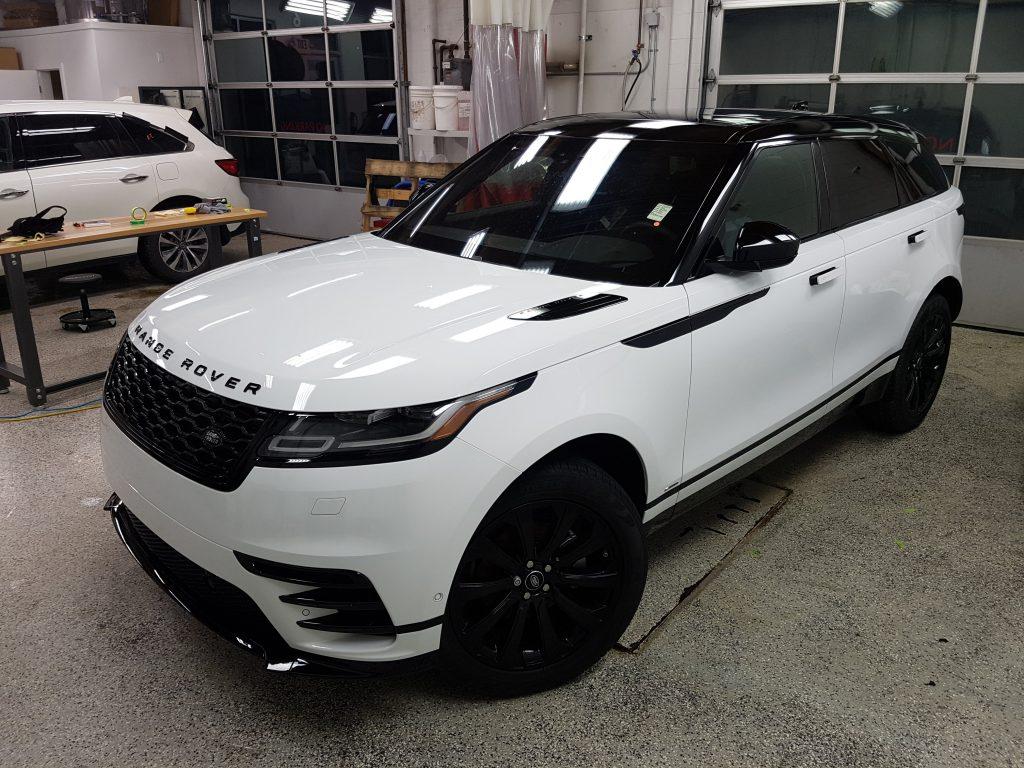 Range Rover Full Roof Wrap