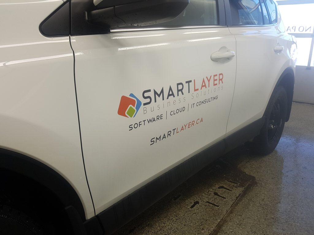 Smartlayer - Basic Rav4 Fleet Decals