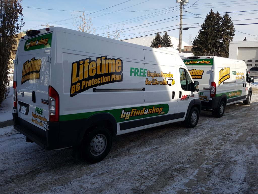Printed/Cast Sprinter Fleet Graphics