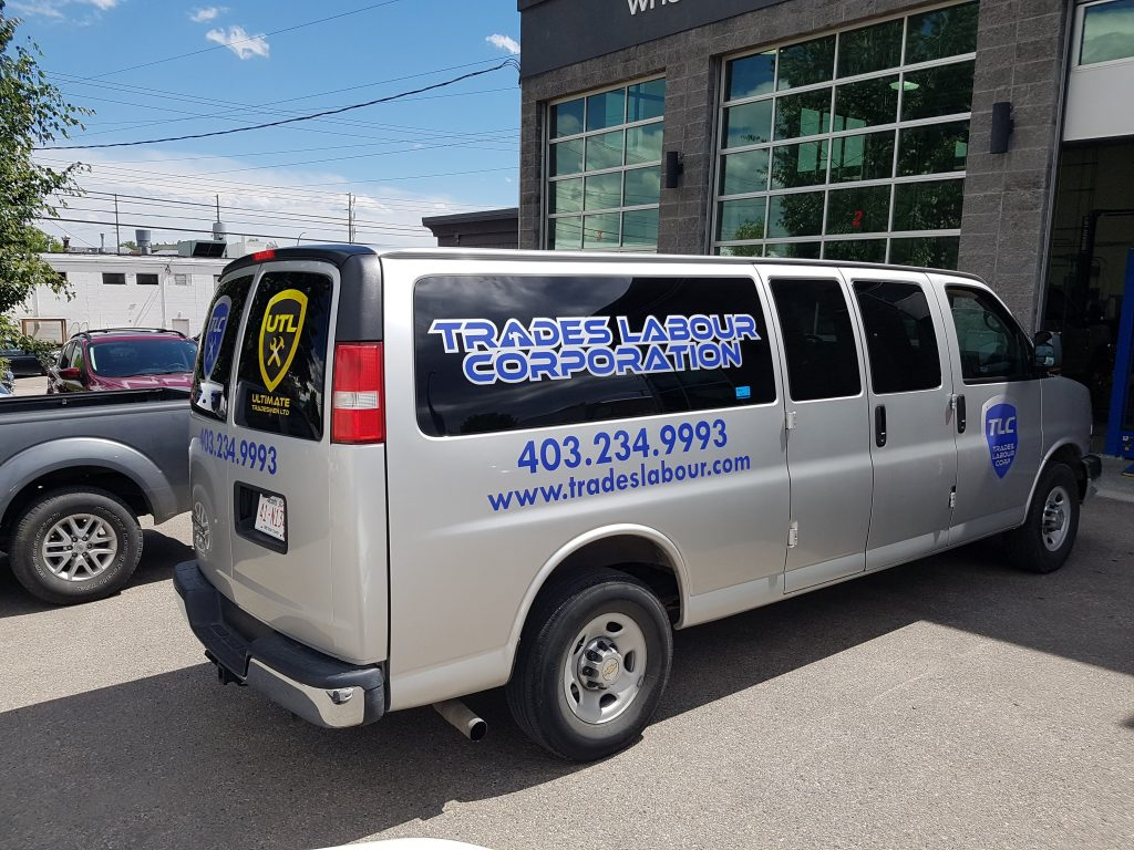 Trades Labour Corp Van Fleet Graphics