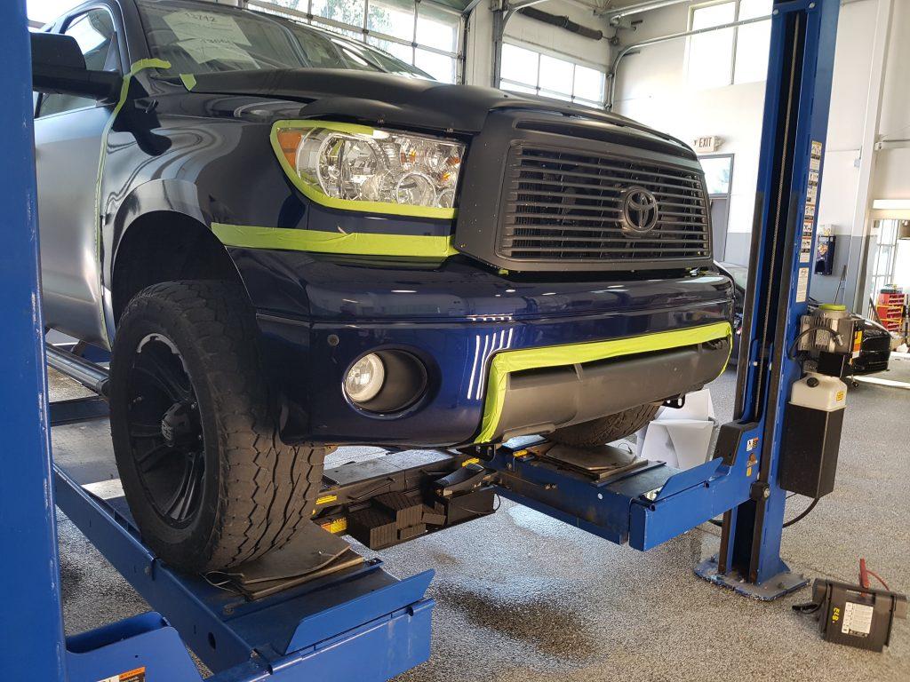 Tundra Bumper & Fender Wrap (Repair)