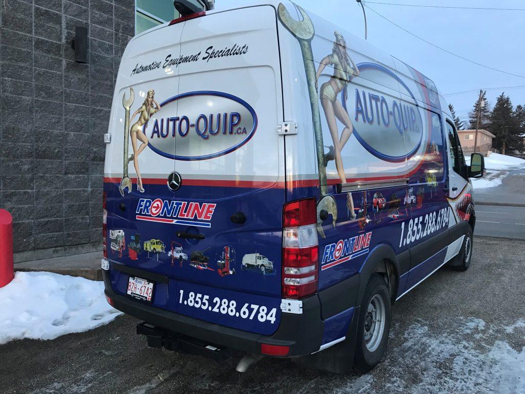 Autoquip Fleet van wrap