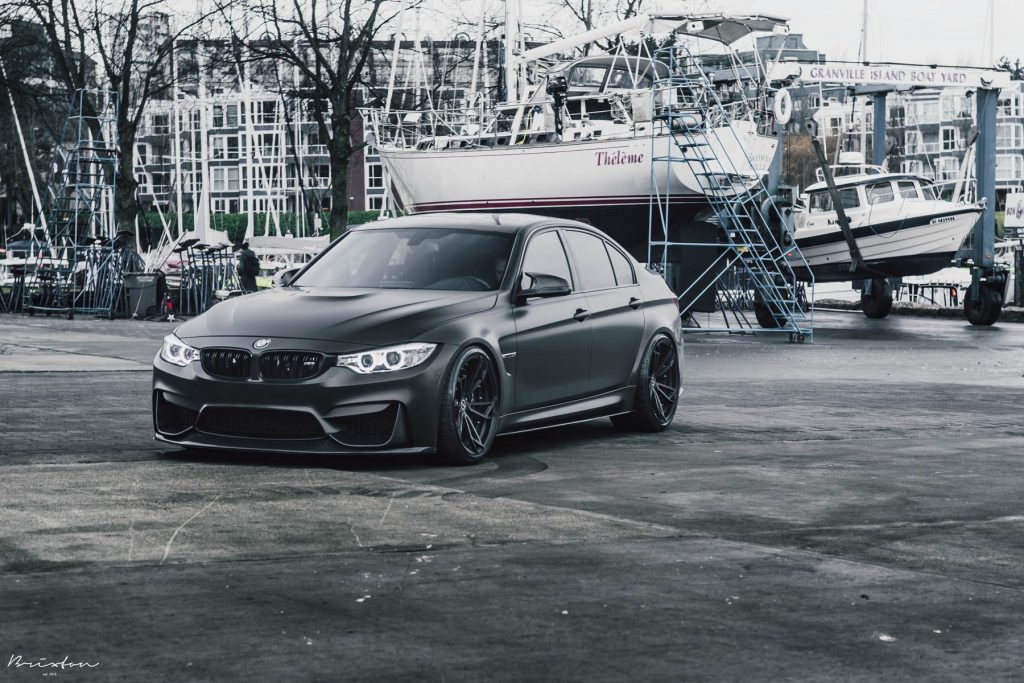 Full BMW M3 Satin Wrap