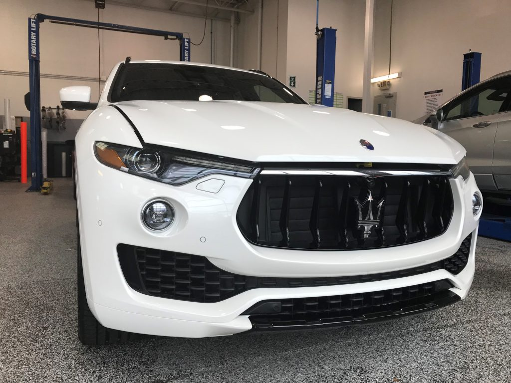 Complete Paint Protection Film Maserati Wrap