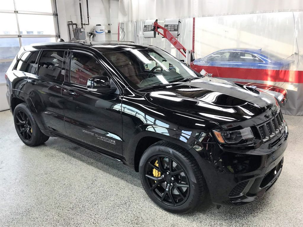 Ceramic Coating - Jeep Trackhawk