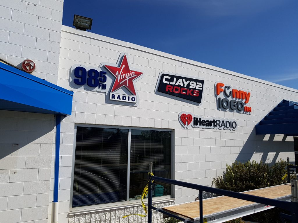 Exterior Dimension Sign Letters - Bell Media